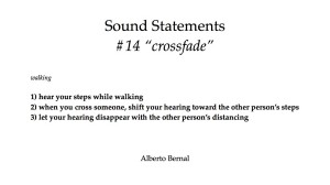 sound statements #14