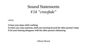 sound statements #14