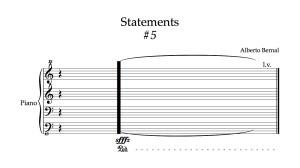 sound statements #5